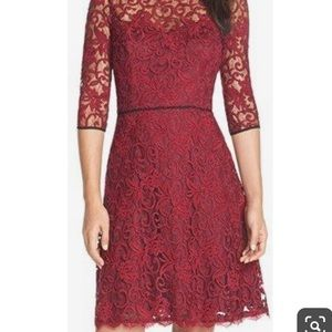 Adrianna Papell Illusion Fit and Flare dress 10